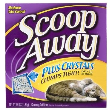 Scoop Away Multi-Cat Plus Crystals cat litter review