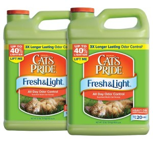 cat's pride fresh & light all day odor control