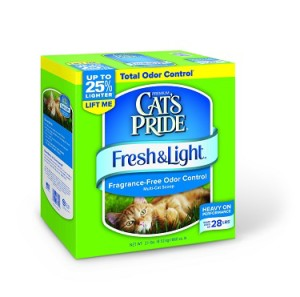 cat's pride fresh & light fragrance free cat litter review