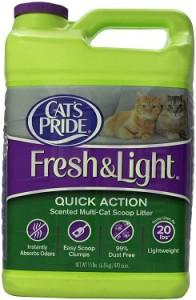 cat's pride fresh & light quick action