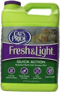 cat's pride fresh & light quick action