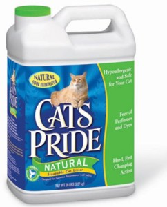 cat's pride natural scoopable cat litter review