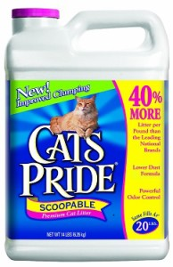 cat's pride scoopable scented cat litter review