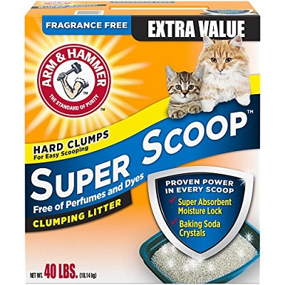 Arm & Hammer Super Scoop Fragrance Free Cat Litter 1 full