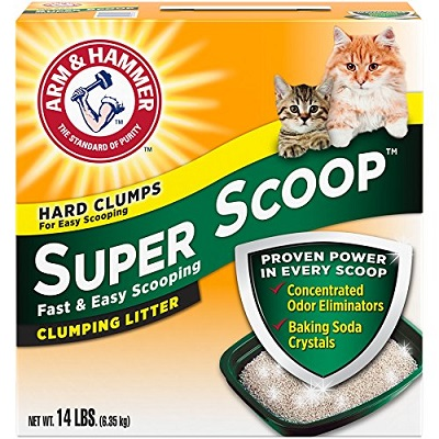 Arm & Hammer Super Scoop Fresh Scent Clumping Cat Litter 1 full