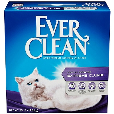 Ever Clean Extra Strength Scented Cat Litter 1 full