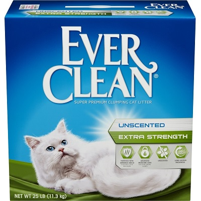 Ever Clean Extra Strength Unscented cat Litter 1 full