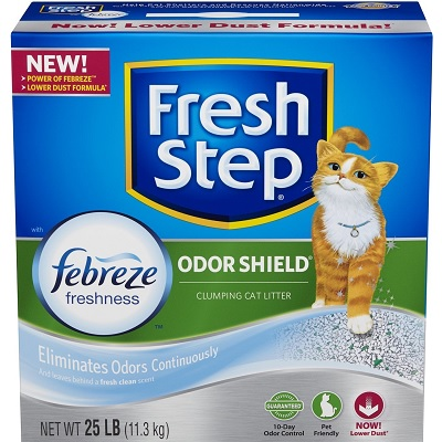 Fresh Step Odor Shield Scented Scoopable Cat Litter full