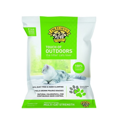 Precious Cat Touch of Outdoors Cat Litter full