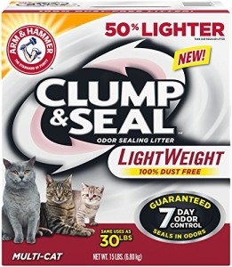 arm & hammer clump & seal lightweight multi-cat