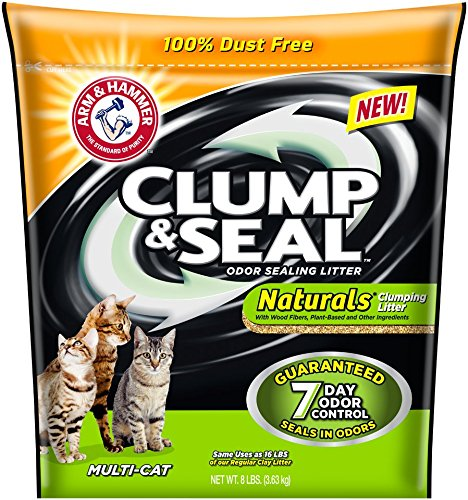 Arm & Hammer Clump & Seal Naturals Cat Litter Review