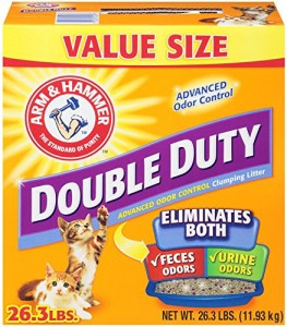 arm & hammer double duty clumping cat litter review