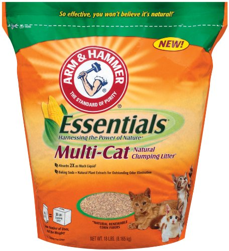Arm & Hammer Essentials Multi-Cat Natural Cat Litter Review
