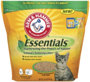 arm & hammer essentials natural clumping