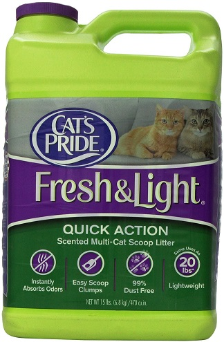 Cat's Pride Fresh & Light Quick Action Cat Litter Review