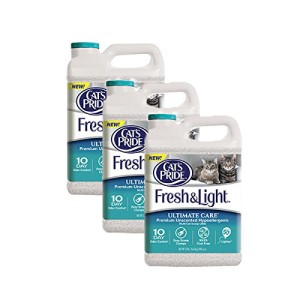 cat's pride fresh & light ultimate care premium unscented cat litter review