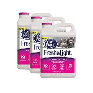 cat's pride fresh & light ultimate premium scented multi-cat