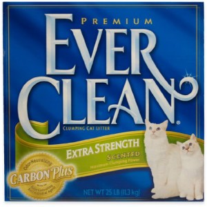 ever clean extra strength scented cat litter review