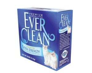 ever clean extra strength unscented cat litter review
