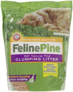 feline pine clumping