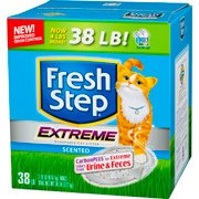 fresh step extreme odor control scented cat litter review