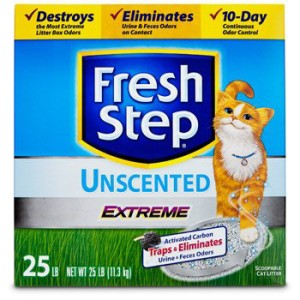 fresh step extreme odor control unscented cat litter review
