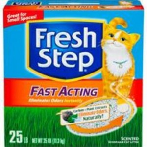fresh step fast acting cat litter review