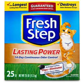 Fresh Step Lasting Power Scoopable Cat Litter Review