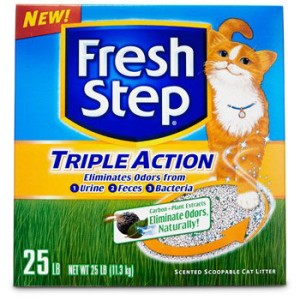 fresh step triple action scented