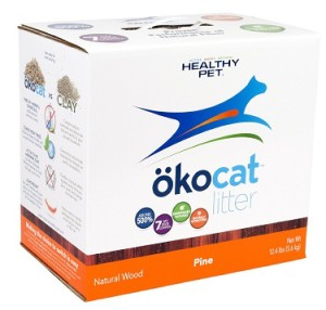healthy pet okocat pine cat litter review
