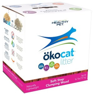 healthy pet okocat soft step clumping cat litter review