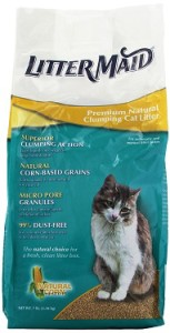 littermaid premium natural clumping cat litter review