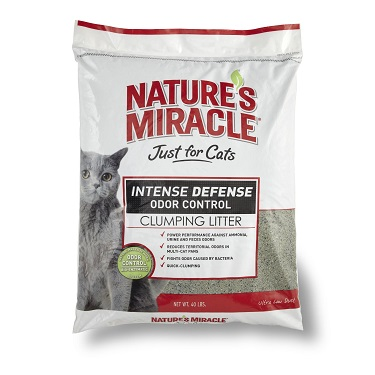 Nature's Miracle Intense Defense Clumping Cat Litter Review