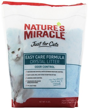 Nature's Miracle Just for Cats Easy Care Crystal Cat Litter Review