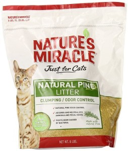 nature's miracle just for cats natural pine