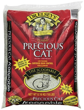 Precious Cat Classic Cat Litter Review