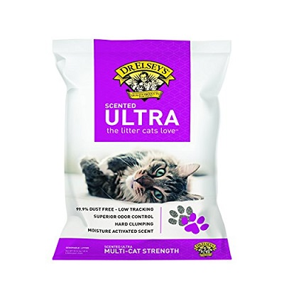 precious cat ultra scented cat litter full