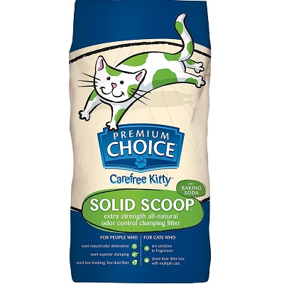 premium choice extra strength with baking soda cat litter full