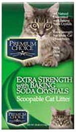 premium choice extra strength with baking soda cat litter review