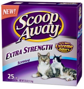scoop away extra strength scented
