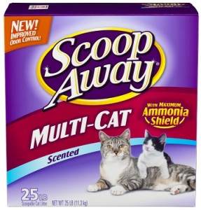 scoop away multi-cat scented