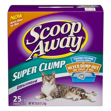 Scoop Away Super Clump Unscented Cat Litter Review