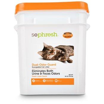 So Phresh Dual Odor Guard Cat Litter Review