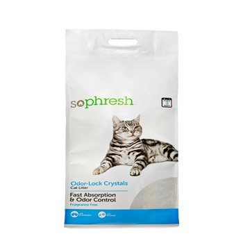 So Phresh Odor-Lock Crystal Cat Litter Review