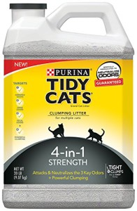 tidy cats 4 in 1 strength cat litter review