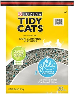 tidy cats glade tough odor solutions non clumping cat litter review