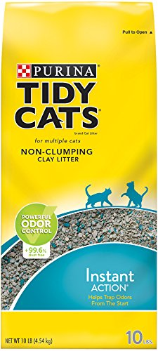 Tidy Cats Instant Action Non-Clumping Cat Litter Review