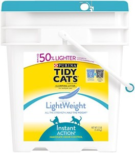 tidy cats lightweight instant action cat litter review