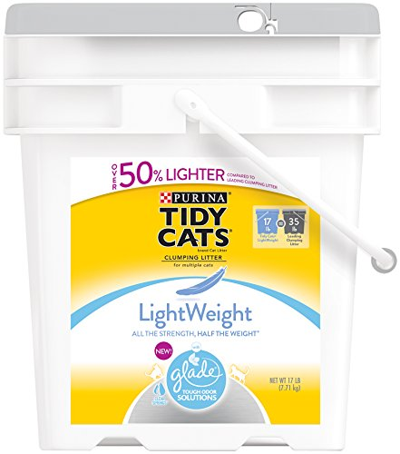 Tidy Cats Lightweight with Glade Tough Odor Solutions Cat Litter Review
