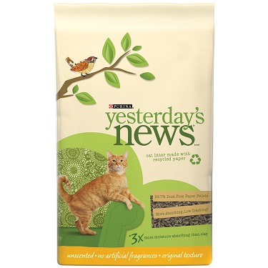 Tidy Cats Yesterday's News Original Cat Litter Review